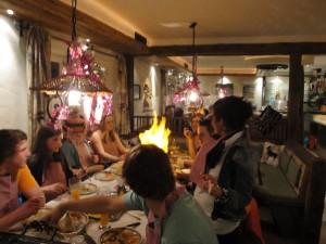 Geburtstagsparty mit Fantasiegrillen in der Fischbachstube